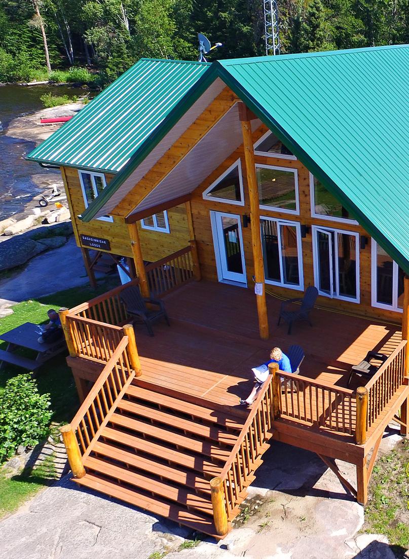 Sasa-ginni-gak Lake and lodging