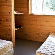 Apisko Lake cabin bedroom