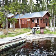 Charron Lake cabin