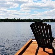 Hillcrest Cabin View from New Dock