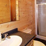 Master Angler Cabin Bathroom