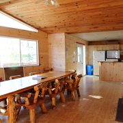Master Angler Cabin Dining Area