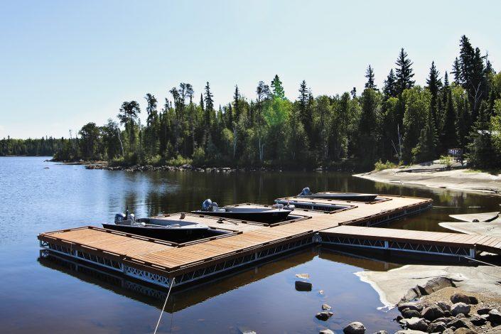 Cabin 5 New Dock