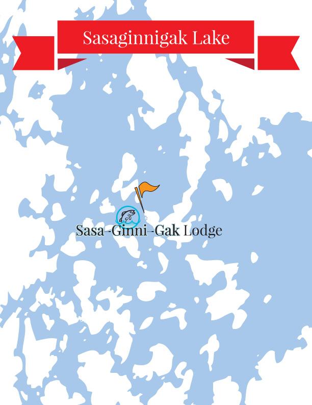 Sasaginnigak Lake Map